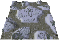 Frozen Winter Map