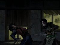 Zuko fights Jet