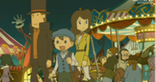 Dialogues pourris %) Layton%2C_emmy%2C_luke_mask_of_miracle