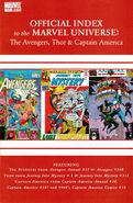 Avengers, Thor & Captain America Official Index to the Marvel Universe Vol 1 11