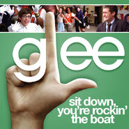 Glee - sit down
