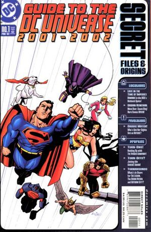 Cover for Guide to the DC Universe Secret Files and Origins #2001-2002