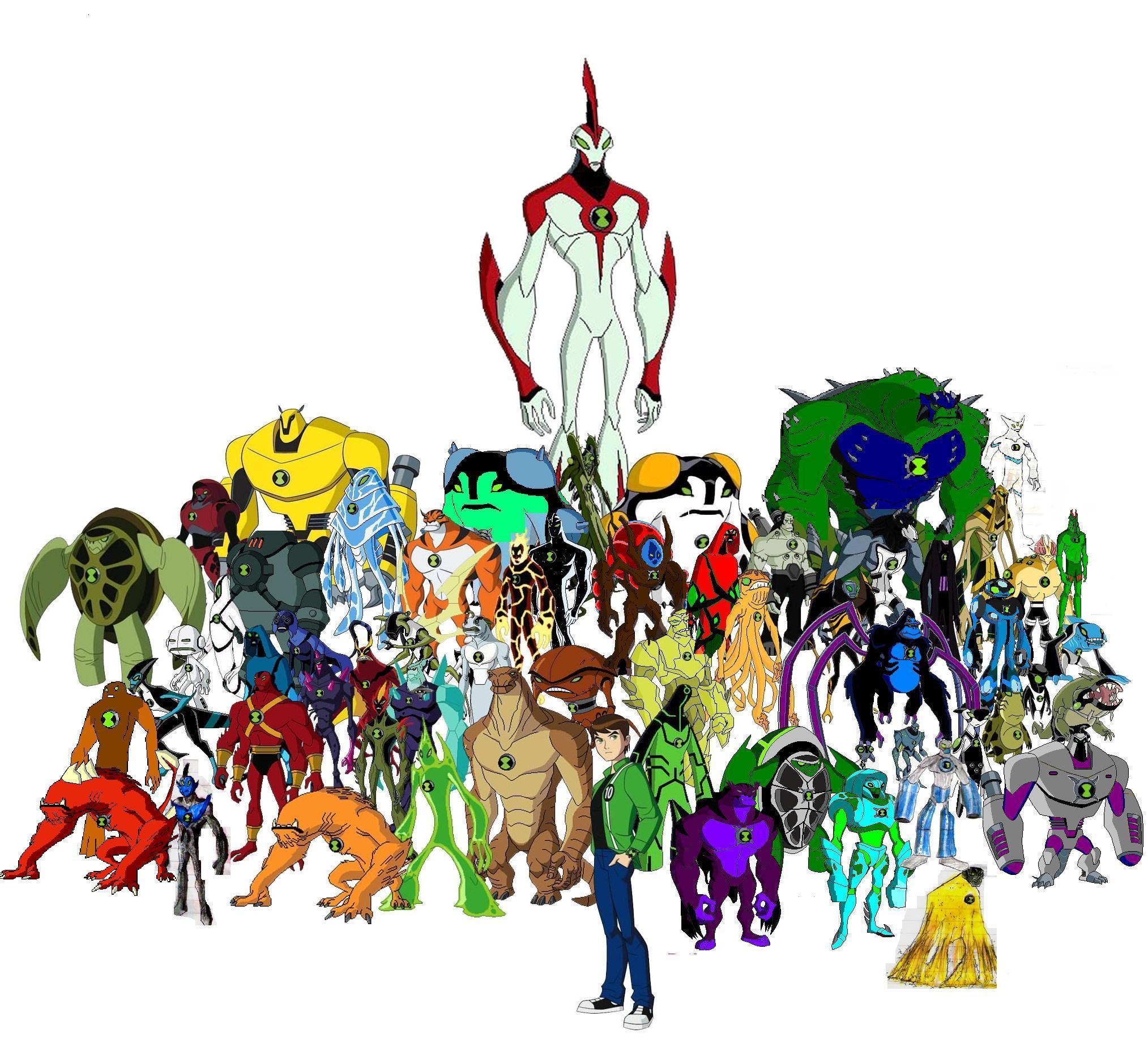 All Ben 10 Ultimate Aliens