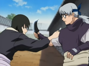 Shizune vs Kabuto