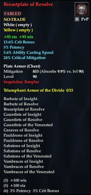 Breastplate of Resolve