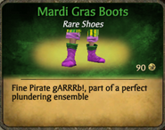 Mardi Gras Boots