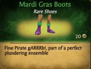 F Mardi Gras Boots