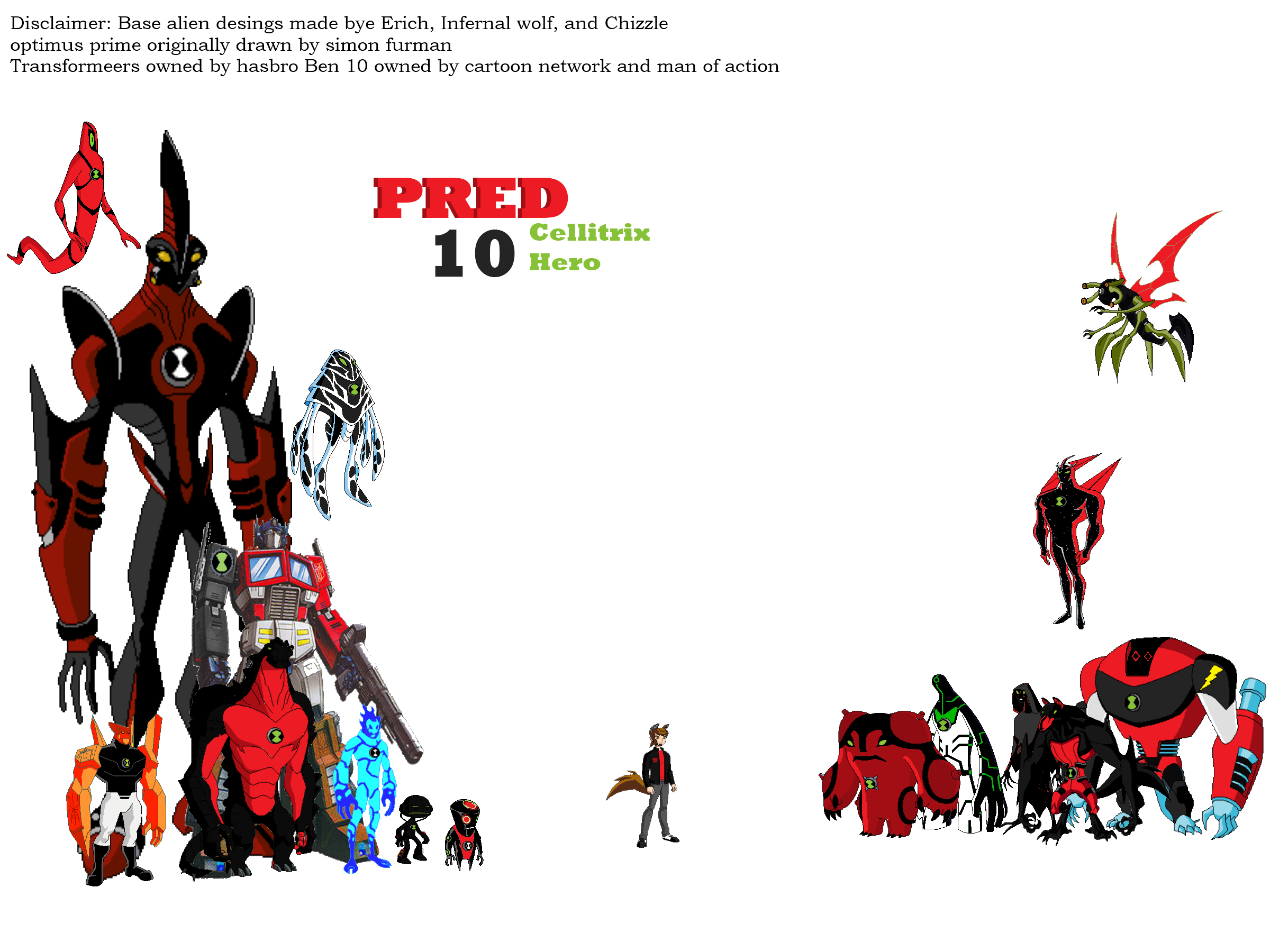 Ben 10 Omniverse All Aliens List With Pictures ✓ Fitrini's