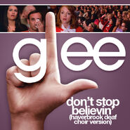 Glee - dont stop deaf