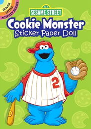 Dover cookie monster paper doll