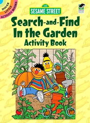 Dover search and find garden activity book