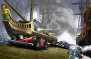 Racing ship battle XSMALL