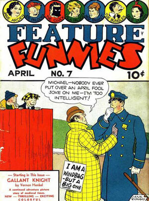 Cover for Feature Funnies #7