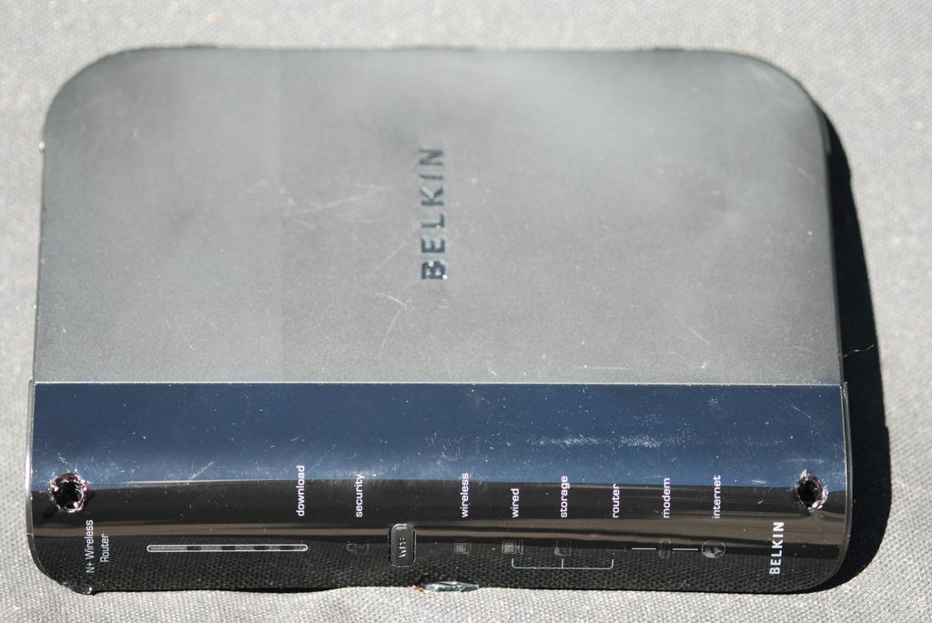 belkin adsl router. £20 - BELKIN ADSL Wireless