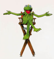 Drewstruzan kermit directorschair