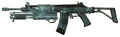 Galil with shotgun