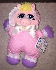 Eden baby piggy rattle lovey