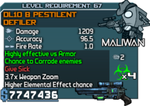 DL10 B Pestilent Defiler happypal