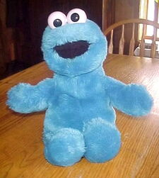 Playskool cookie monster puppet
