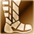 Medium boots gold DA2