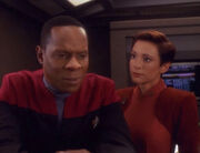 Kira argues with Sisko over Trakor's prophecy