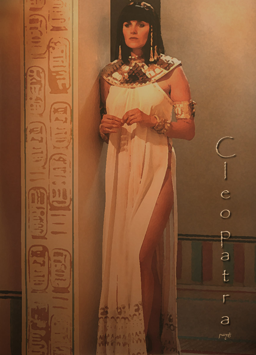 cleopatra the xena warrior princess and hercules the
