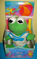 Hasbro 1993 muppet babies kermit