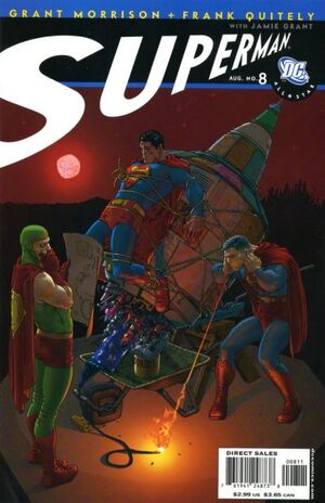 Cover for All-Star Superman #8