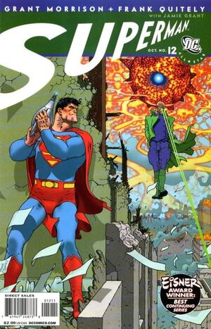 Cover for All-Star Superman #12
