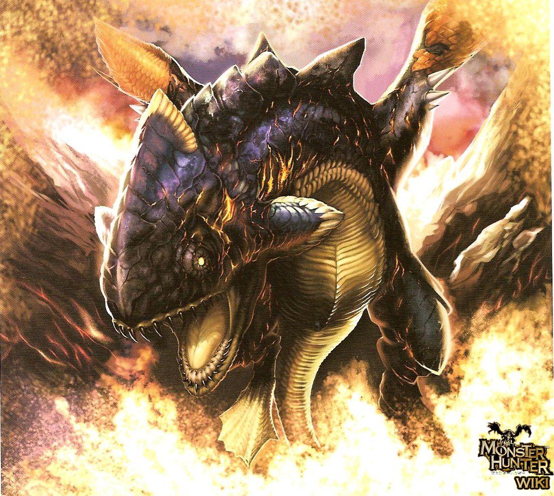 Lavasioth - The Monster Hunter Wiki - Monster Hunter ...