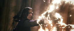 Snape Using Diasarming Spell