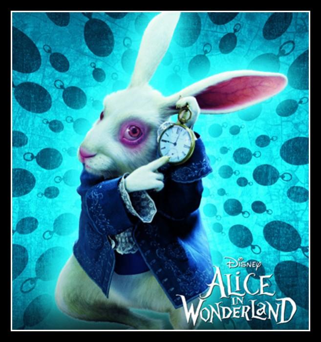Нарисованный кролик в фильме