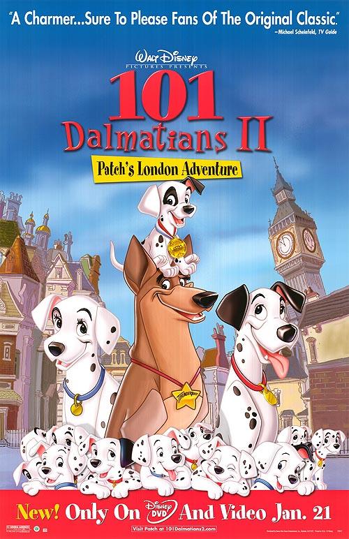 101 Dalmatians II: Patchs London Adventure Blu-ray/DVD