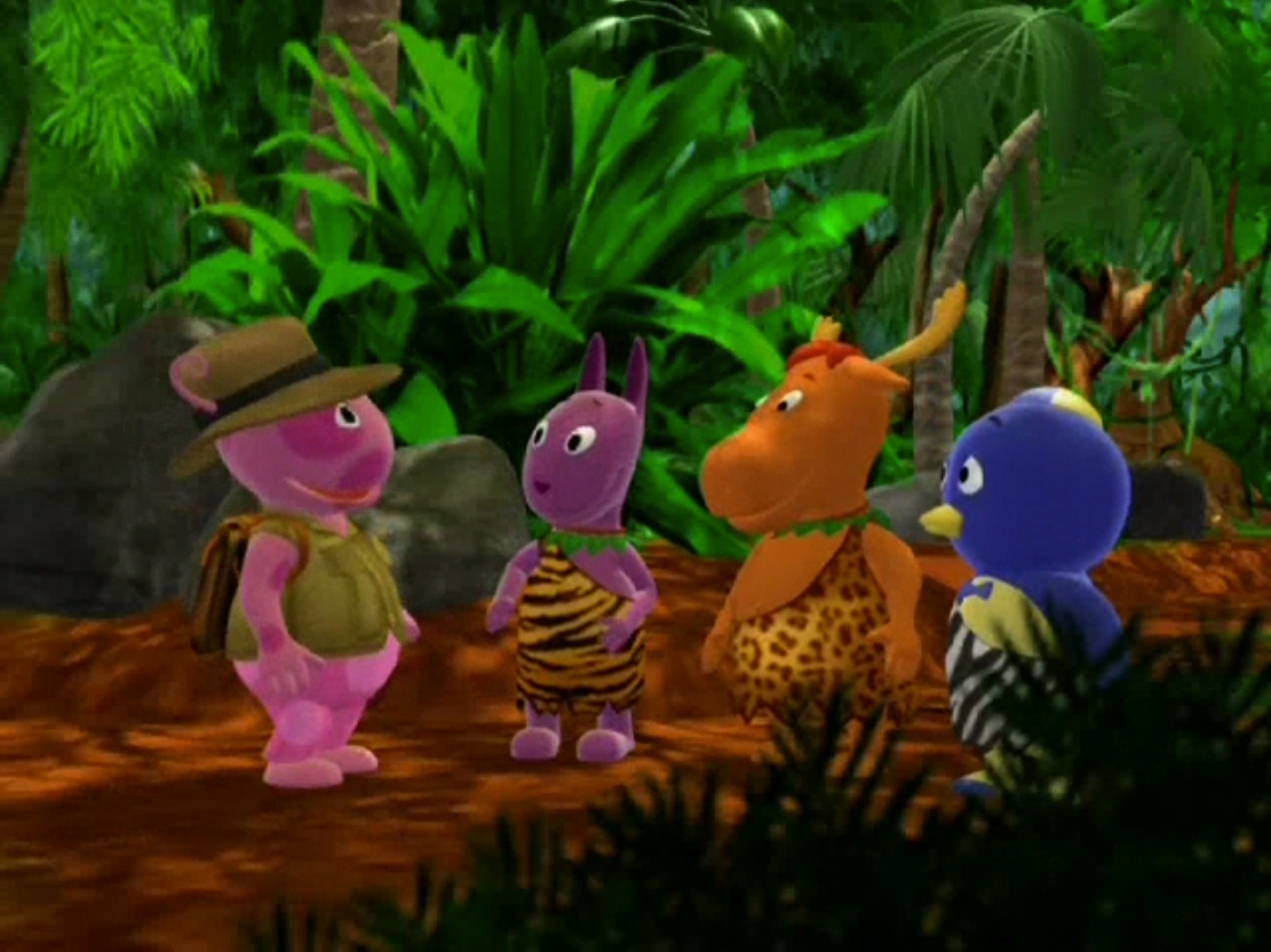 backyardigans heart of the jungle and blues clues blues wish