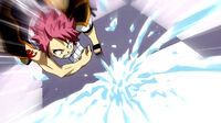 Gray attacks Natsu