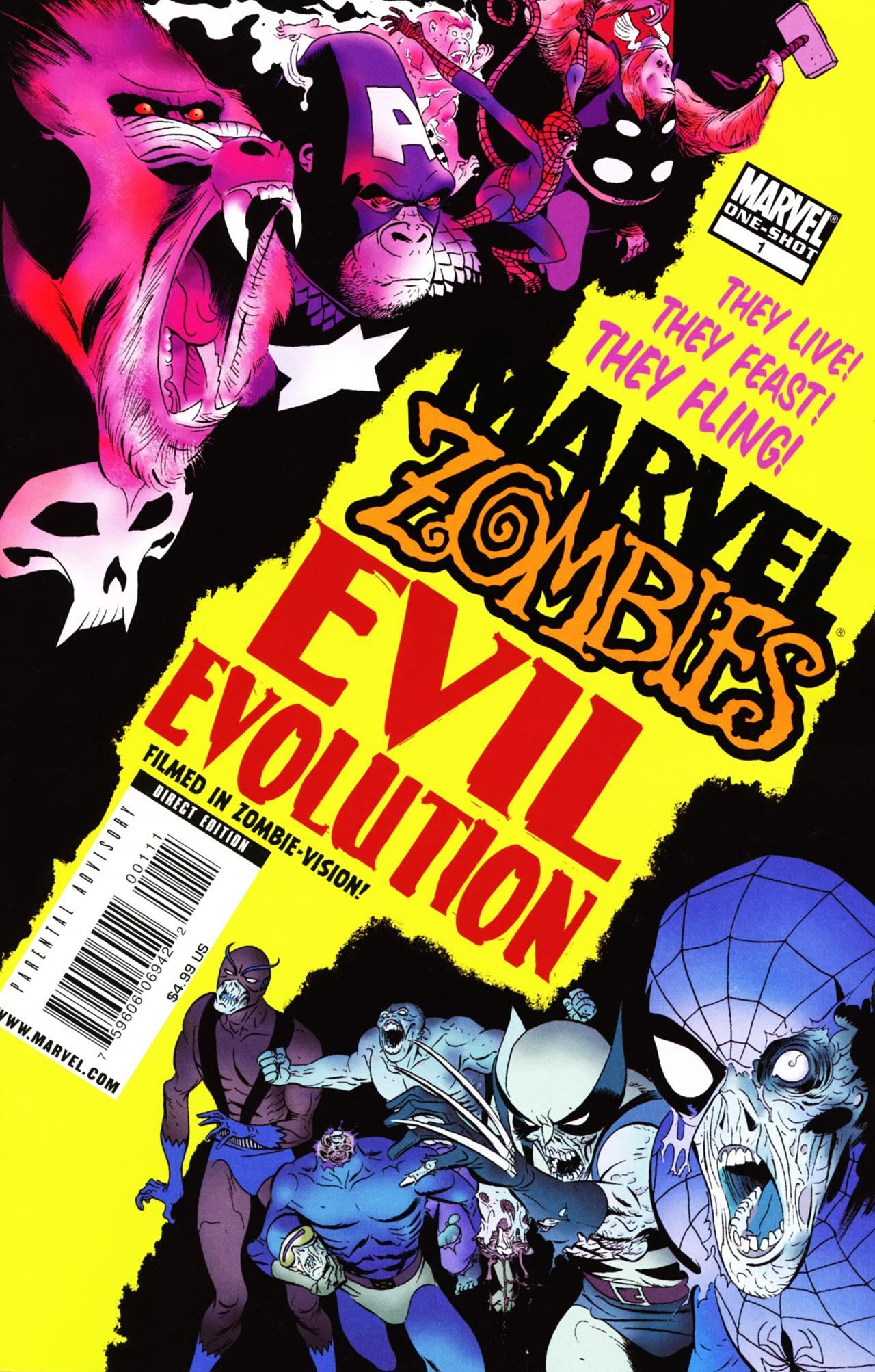 Marvel zombies evil evolution vol 1 1 marvel comics database