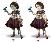 Little sister bioshock wiki for Bioshock jardin de las recolectoras