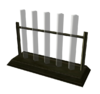 Chemistry test tube rack