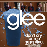 Glee - dont cry kurt