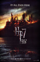 Harry potter deathly hallows part 2 poster
