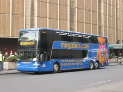 Coach USA Megabus Van Hool TD925 DD415