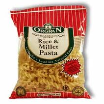 Gluten-free-rice-millet-pasta