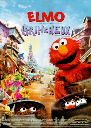 ELMO AU PAYS DES GRINCHEUX