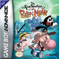 The Grim Adventures of Billy and Mandy (GBA) (NA)