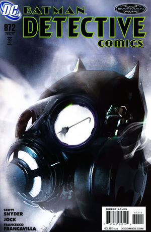 Cover for Detective Comics #872