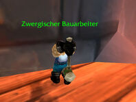 Zwergischer Bauarbeiter