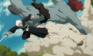 E316 Young Hitsugaya fighting