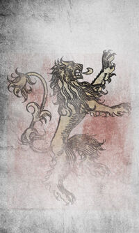 House Lannister banner