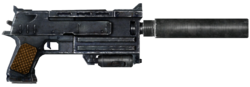 Winterized N99 10mm silenced pistol
