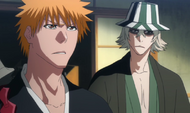 E317 Urahara warns Ichigo